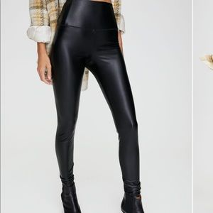 Wilfred Free Faux Leather Daria Legging Pants